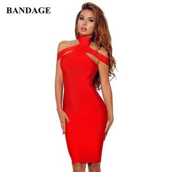 Vestido ceñido al cuerpo para mujer, novedad de verano, Vestidos de mujer rojos, blancos, negros, sin hombros, ropa elegante para fiesta de celebridades, Boutique y Club