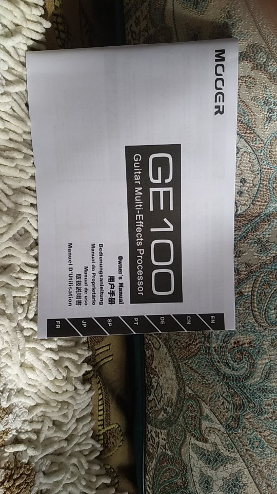 На mooer инструкция ge русском 100 Mooer GE100