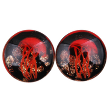 Fashion Unisex Jellyfish Pattern Ear Plugs Tunnel Expander Body Piercing Jewelry