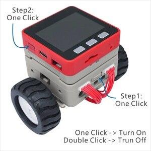 Image 4 - M5Satck nouvelle voiture BALA! ESP32 développement Mini voiture auto équilibrante électrique 2DC moteur avec encodeur Kit PSRAM MPU6886 BLE