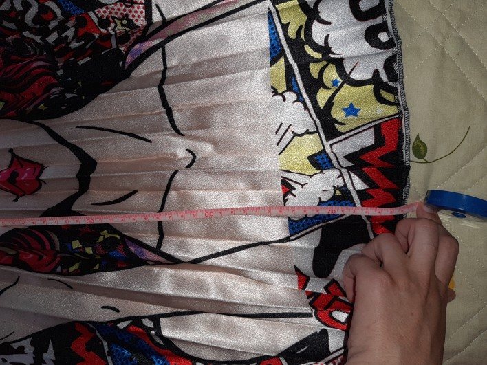 New Fashion High Waist Pleated Skirt Women Autumn Winter Midi Skirts Womens Elastic Waist A Line Long Skirts For Women Rok photo review