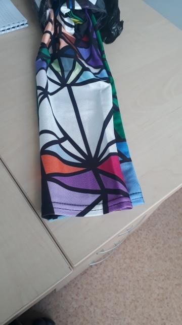 Qickitout Leggings Sample Women's Diamond Color Stitching Leggings Digital Print Pants Trousers Stretch Pants Plus Size DropShip