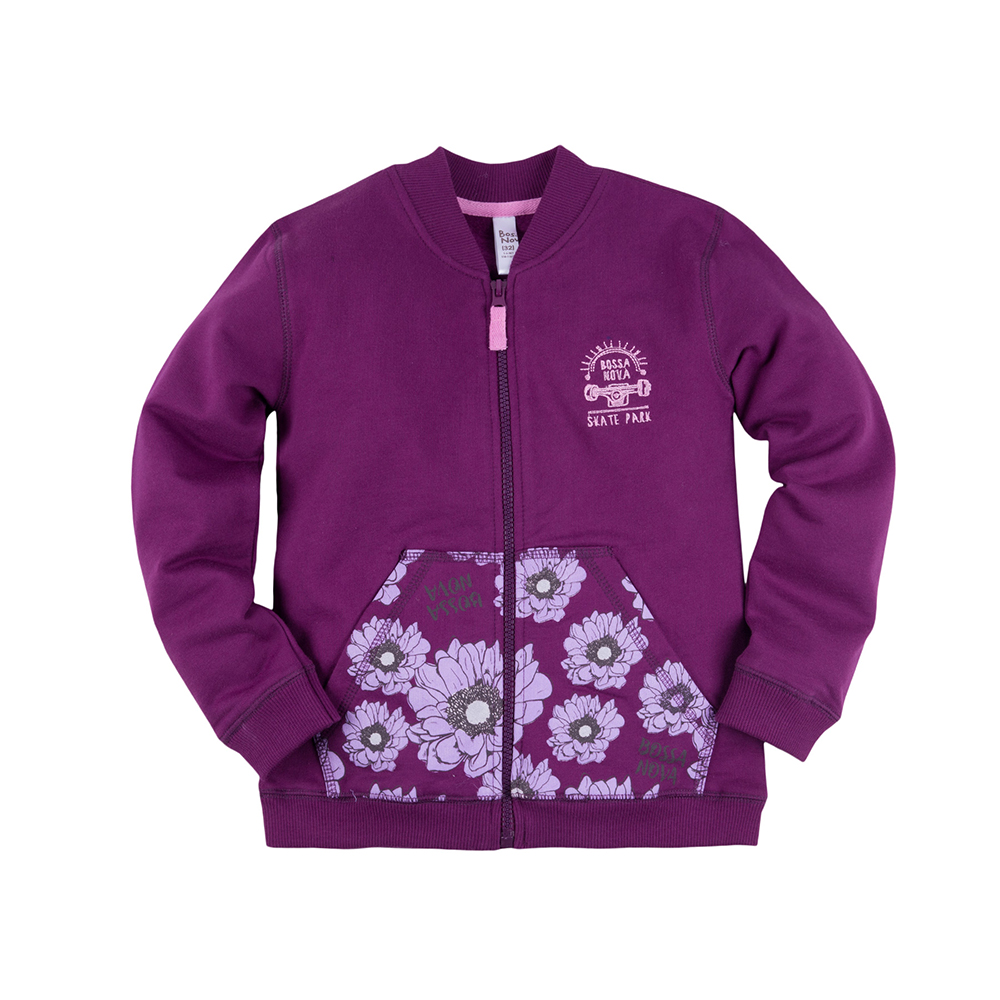 Hoodies & Sweatshirts BOSSA NOVA for girls 183f-462 Children clothes kids clothes dresses bossa nova for girls 143b 462 children clothes kids clothes
