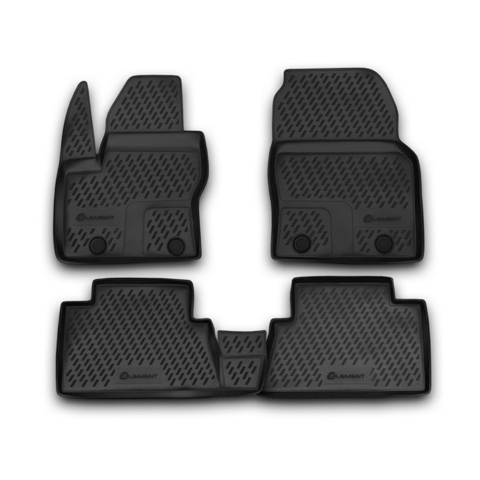 цена на For Ford Grand C-Max 2010-2019 floor mats into saloon Element S00020