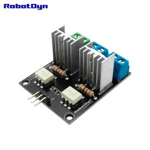Thyristor AC switch, 2 Channel, 3.3V/5V logic, AC/DC, AC 220V/110V, 5A