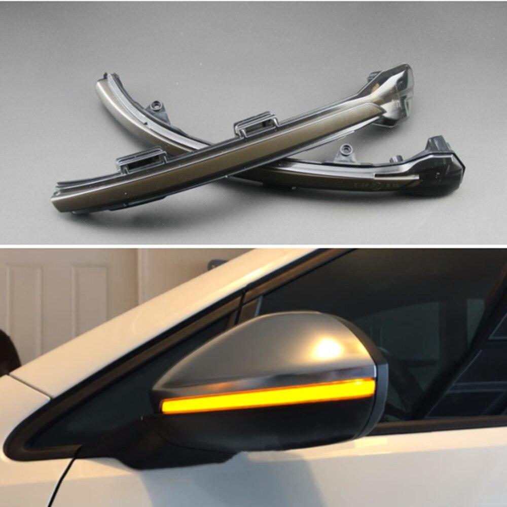 For VW Volkswagen For Jetta 7 MK7 A7 VII GLI 2019 LED Dynamic Turn Signal Blinker