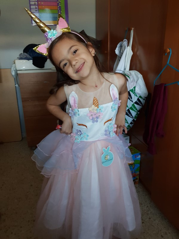 Unicorn Christmas Carnival New Year Dresses photo review