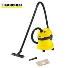 Пылесос для сухой и влажной уборки KARCHER WD 2 *EU-I ( вместимость пылесборника 12л, для сухой и влажной уборки, мощность 1000 Вт, Желоб на корпусе для хранения шнура питания)