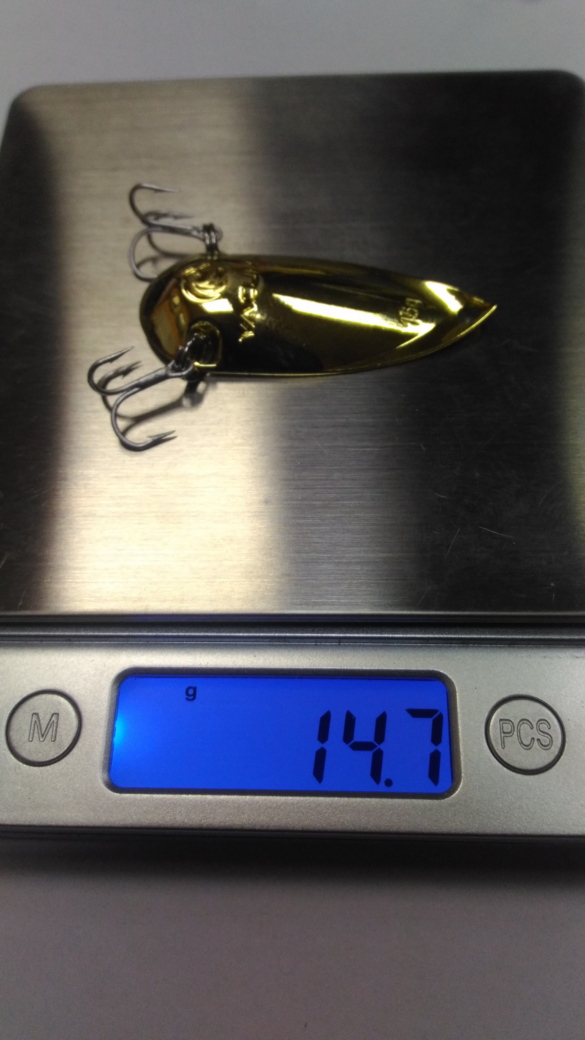 wLure 10g 15g 20g Yacuma Brand From GT-BIO Silver Gold Plating Special Curve Shape Make Less Water Resistance Metal Bait SP254