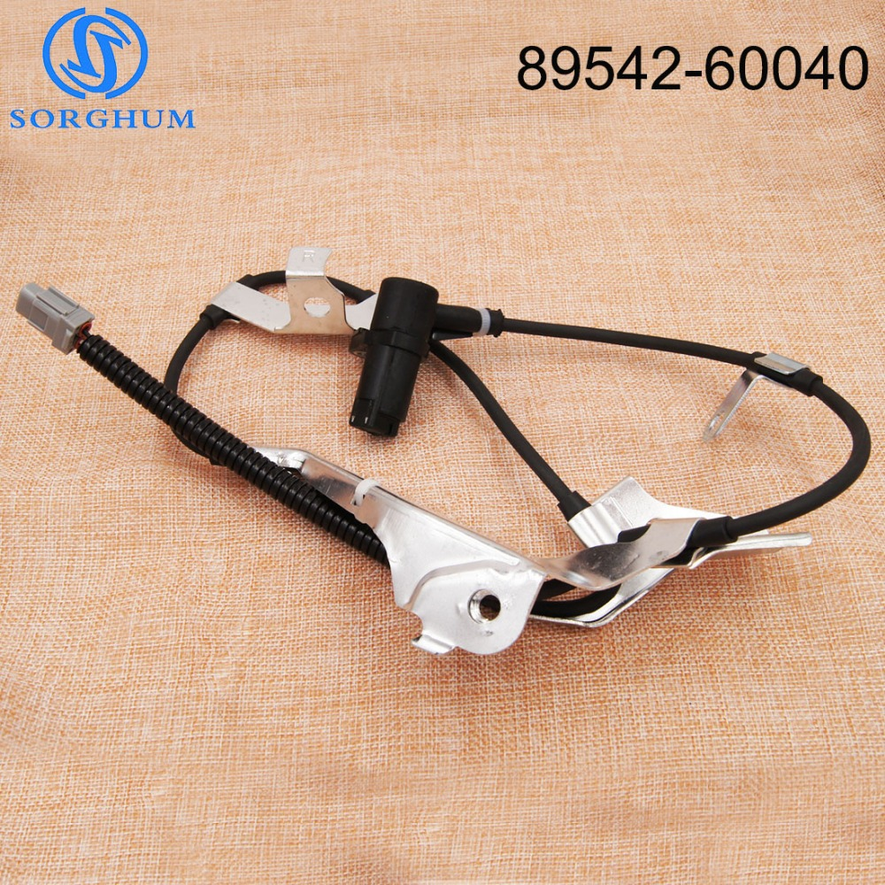 89542-60040 Front Right Side ABS Sensor Wheel Speed Sensor For <font><b>Toyota</b></font> Land Cruiser <font><b>100</b></font> 1998-2007 For Lexus LX470 1998-2007 image