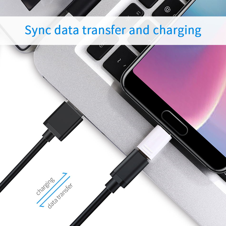 3-1Samsung Galaxy S9 S8 plus Micro USB to Type C Converter Fast Charger Charging Cable Adapter Snelle Lading  Note8 C5 C7 C9 pro_