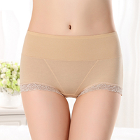 aa669117a Sexy Beautiful Women High Waist Briefs Breathable Comfort Seamless Panties  Underwear Underpants. Belas Mulheres sensuais Cuecas de Cintura Alta ...