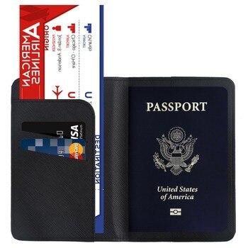 TRASSORY Multifunctional Rfid Blocking Harry Potter Passport Cove Leather Hogwarts Gryffindor Ravenclaw Passport Cover Case