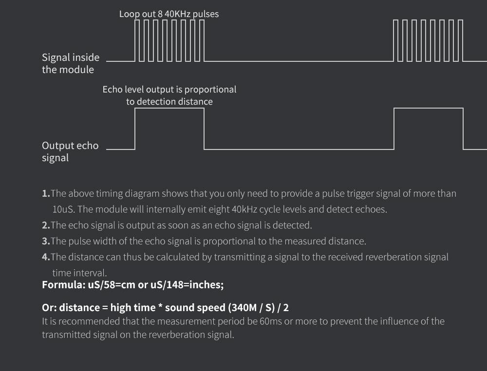 Водонепроницаемый Ультразвуковой Модуль JSN-SR04T водонепроницаемый Интегрированный датчик расстояния датчик для Arduino