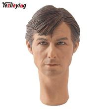 KUMIK 1/6 Scale Head Sculpts Male Model Men's Head Sculpture Tom Cruise Model Custom Head Carving 12