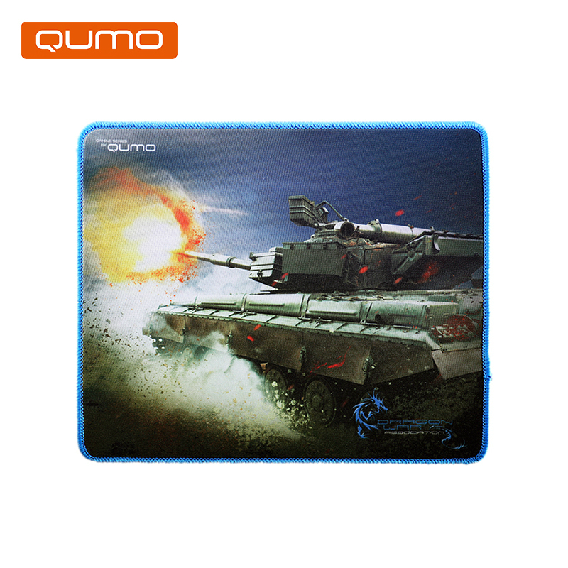 Mouse pad Qumo 280x230x3 mm цена и фото