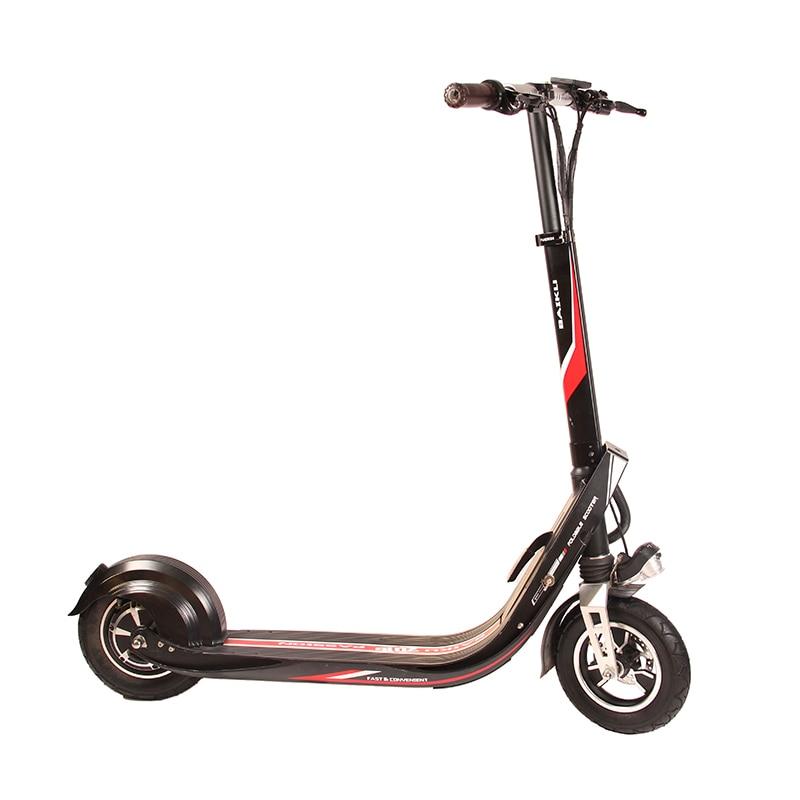 Baiku Paixão Samokat Scooter Elétrico Adulto 36 V 400 W Forte poderoso IP56 Ultraleve Dobrável Bicicleta à prova d' água