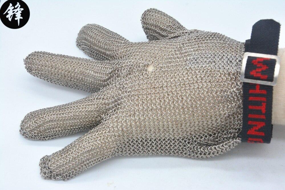 Métal de soudage en acier inoxydable fil gants résistant aux coupures niveau 5 ET Trois fingerCut résistant gants anneau en acier de fer gant dans Coudre outils et accessoires de Maison & Jardin