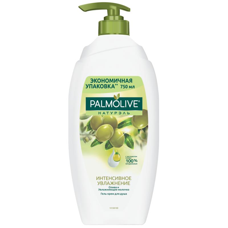 Shower Gels PALMOLIVE NATUREL Intensive moisturizing Olive and moisturizing milk gel shower gel, 750 ml Beauty rotatable stainless steel top rainfall pressure shower head set with hose and steering holder