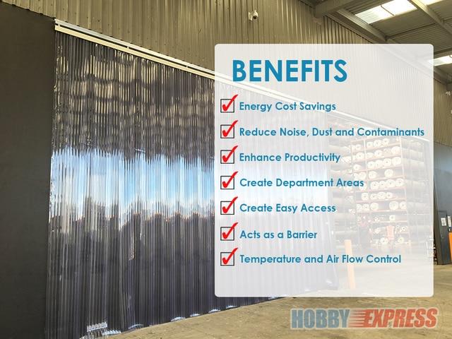 arrowzoom 0 6 x 6 6 ft 18 cm x 200 cm pvc strip plastic curtain warehouse freezer door thermal insulation 1 mm thick kk1173