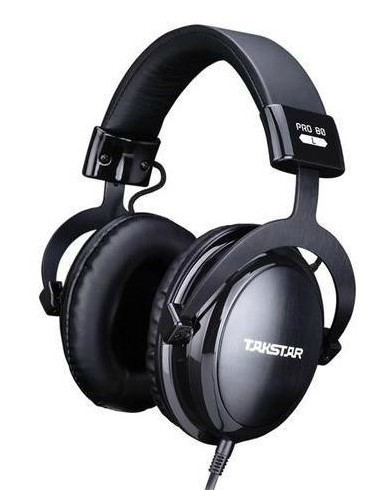 Original Takstar PRO82 Professional monitor headphones HIFI headset for stereo,PC recording K song game,bass adjustable fone de kz headset storage box suitable for original headphones as gift to the customer