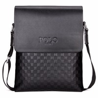 Hot Sell POLO High Quality Leather Messenger Bag Fashion Men S Shoulder Bag Business Cross Body
