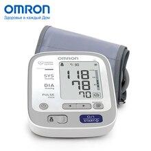 Тонометр OMRON M6 (HEM-7213-ARU), Измеритель артериального давления и частоты пульса автоматический, Универсальная манжета, Индикатор аритмии, Память для 2 пользователей, Мини-адаптер в комплекте