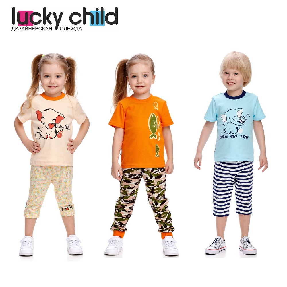 T-Shirts Lucky Child for girls and boys L1-26 Shirt Children clothes t shirts lucky child for girls 30 138 t shirt children clothes