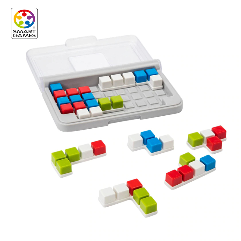 Smart Games IQ Focus Educational Toys For Children Montessori Education Game Learn Attention Logic And Space Vision Capacity