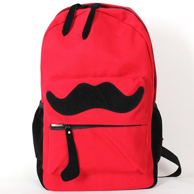 Рюкзак Красный Усы Omo-503