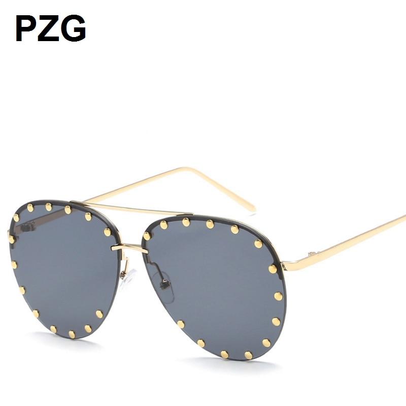 PZG marca de lujo Pilot Eyewear gafas polarizadas para conductores - Accesorios para la ropa