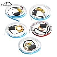 1Pcs White Red YEllow LED Strip Light Rear Car Tail Brake Light Turn Signal Reverse Leds