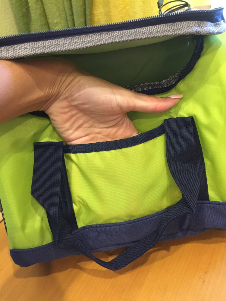 New 16L Waterproof Lunch Bag Cooler Bag for Steak Insulation Thermal Bag Thicken Folding Fresh Keeping Insulation Ice Pack photo review