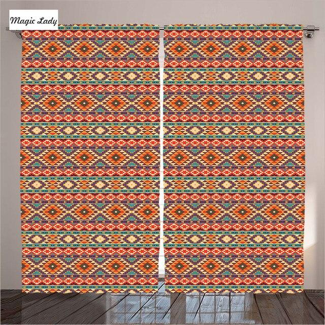 Wonderful Native American Living Room Curtains Ideas - Exterior ...