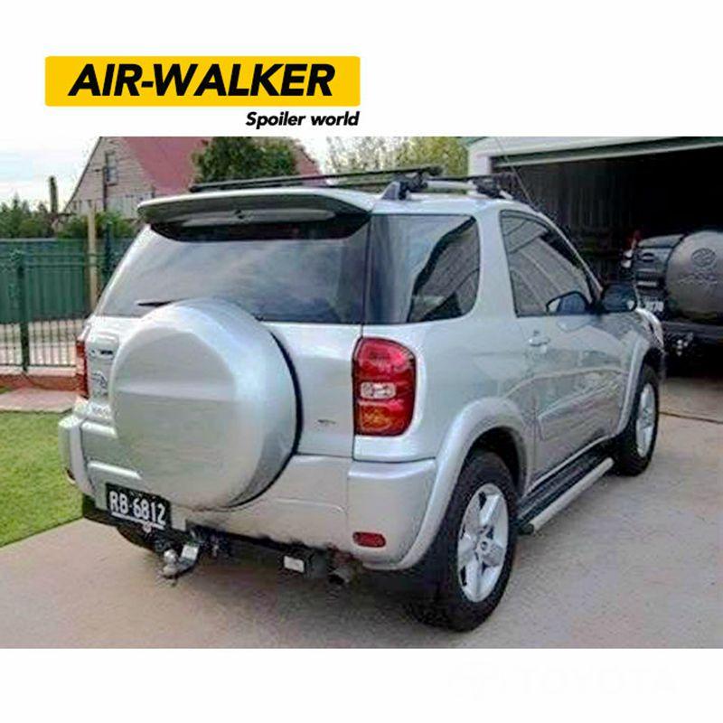 For Toyota RAV4 Spoiler High Quality ABS Material Car Rear Wing Primer Color Rear Spoiler For Toyota RAV4 Spoiler 2001-2004 цена