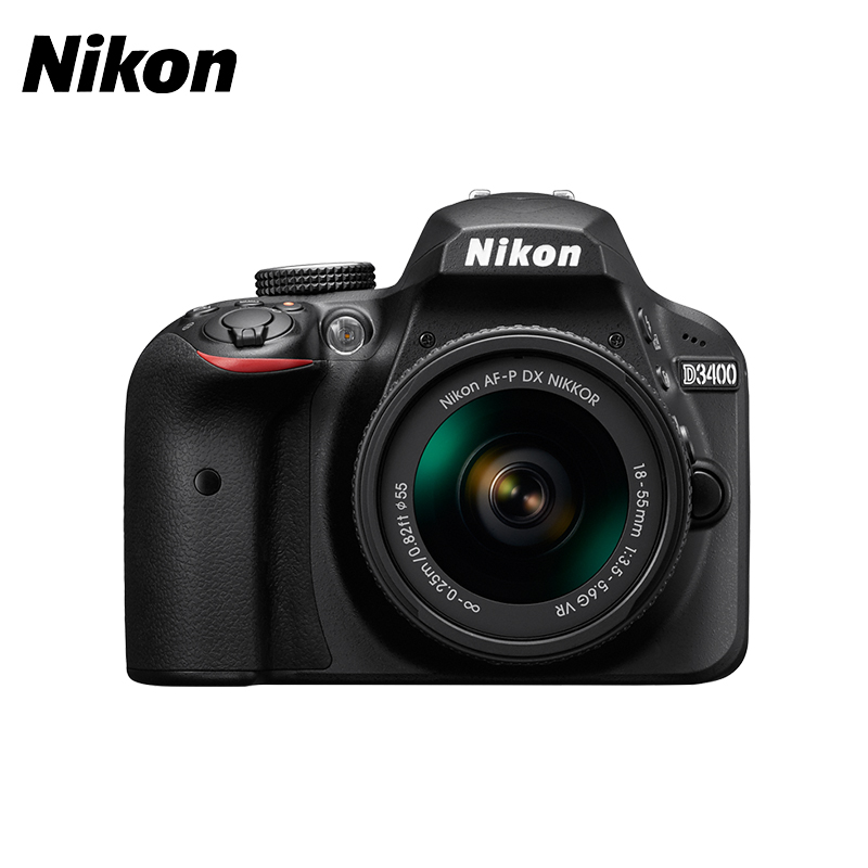 DSLR Camera Nikon D3400 KIT 18-55mm f/3.5-5.6 VR AF-P