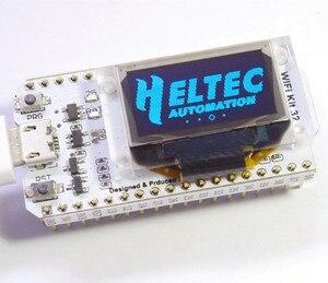 Image 2 - WIFI ESP32 פיתוח לוח 0.96 אינץ כחול OLED תצוגת Bluetooth אינטרנט של דברים לarduino עם גוף קירור