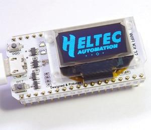 Image 2 - WIFI ESP32 開発ボード 0.96 インチ青色 Oled ディスプレイの Bluetooth インターネットのものと arduino のためのヒートシンク