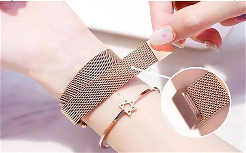 Luxury Women Watches Magnetic Starry Sky Female Clock Quartz Wristwatch Fashion Ladies Wrist Watch reloj mujer relogio feminino (9)