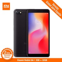 [Global Version for Spain] Xiaomi Redmi 6A (Memoria interna de 32GB, RAM de 2GB, Camara de 13MP,Full screen de 5,45) Smartphone