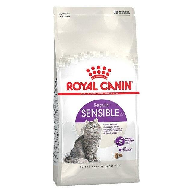 Royal Canin Sensible корм для кошек с чувствительным пищеварением, 15 кг