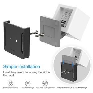 Image 2 - Wall Mount Base Holder for Wyze Cam/Xiaomi Xiaofang/Xiaomi Mijia/Neos SmartCam Camera,Home Surveillance Camera Mounting Brackets