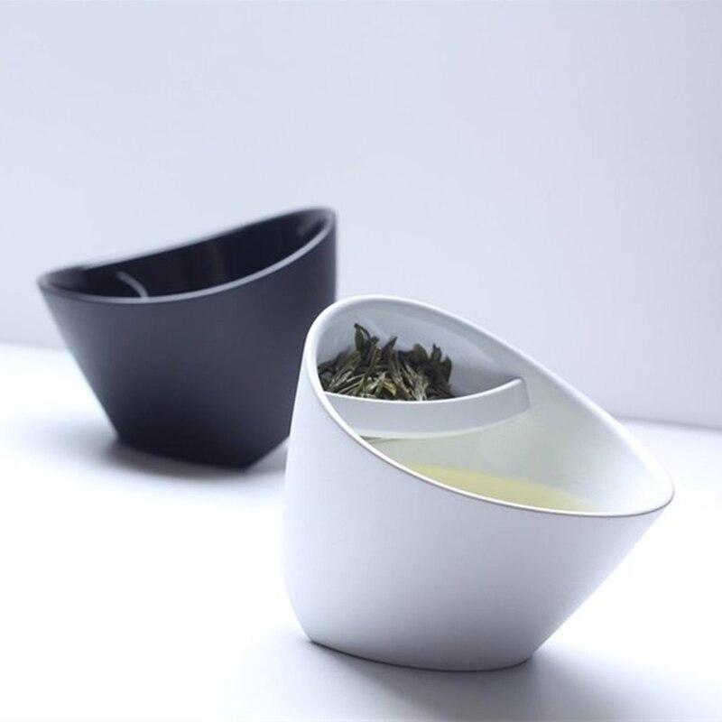 250ML kallutatav plastikust teekruus. Purutee joomine mugav ja lihtne. Värvivalikus must või valge.