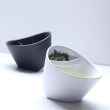 Креативный фильтр чайная чашка пластиковая наклонная чашка чаша для чая Персонализированная умные Смарт чашка для чая Наклоненная чашка с заваркой 250 мл