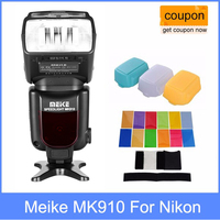 Meike MK910 MK 910 i TTL HSS Flash Speedlite for Nikon as SB900 D750 D800 + 3 Diffuser for D7100 D800 D750 D600 DSLR