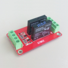 GTM02 2-way solid state relay module / expansion board high level trigger with fuse 5V 12V 24V