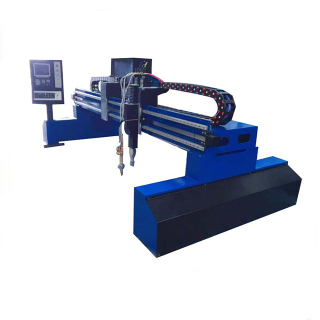 China gantry type CNC plasma cutting machine for aluminum/iron/steel/metal sheets cutting 4