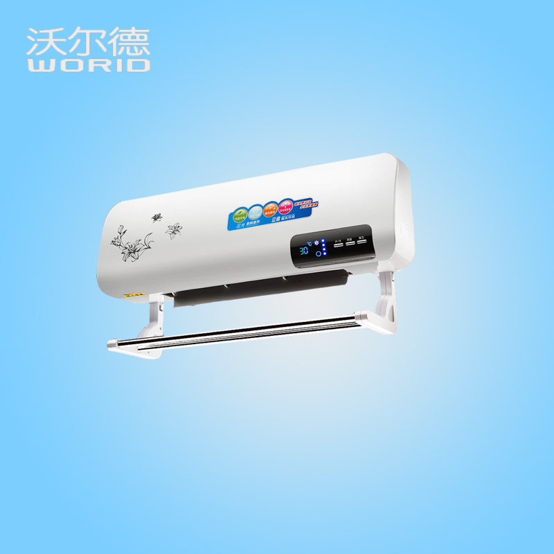 ITAS2018 Heater Bathroom Heater Wall Mounted Home Heating Heater Hot Air Blower Energy Saving