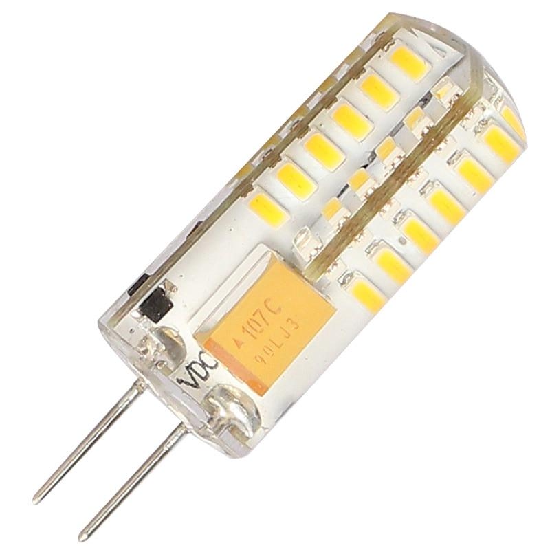 1Pcs/lot G4 LED Light Bulb 4W G4 Led Capsule LED Spot Light Bulb Lamp In Crystal Lighting Lamp G4 LED Spotlight Lamp AC DC 12V