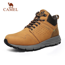 CAMEL Men Women High Top Outdoor Shoes Casual Durable Anti-S